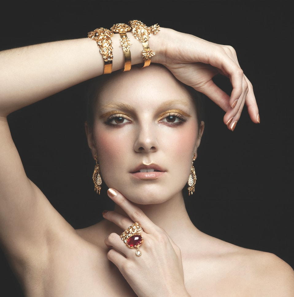 Solitaire-magazine-jewellery-spread-photoshoot-gold-peranakan-foundation-jewellers